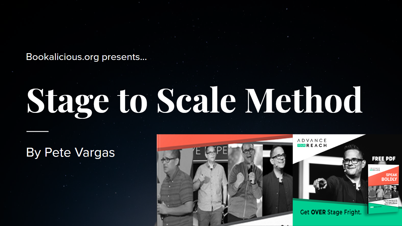 Stage to Scale Method